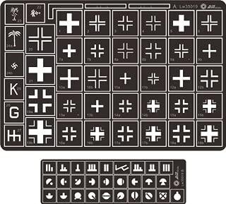 Alliance Model Works 1:35 Stencil German Balkenkreuz Cross Kursk #LW35019
