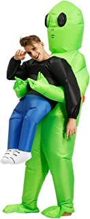 ET Alien Inflatable Suit Fancy Costume Halloween Cosplay Fantasy Costume