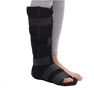 Walking Boot Fracture Orthopedic Foot Boot for Injuries Plantar Fasciitis Night Splint Sprained Ankle Achilles Tendon Walking Cast Boot Medical Surgical Recovery (Indoor - M)