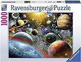 Ravensburguer-19858 0 Puzzle 1000 Piezas Vista Desde el Espacio, Multicolor (19858)