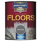 Johnstone's 307941 Garage Floor Paint Dark Grey, 750 ml