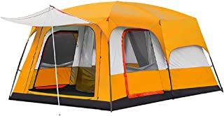 Charhoden SQ-103-O Model: TXZ-0030 Two-bedroom One hall Outdooor Tent - Instant Cabin Tent Orange - Orange, X-Large