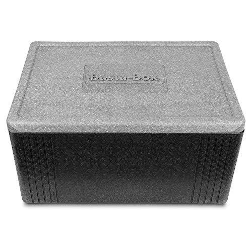 Lisk. Basta Box - Große Thermobox mit Deckel aus hochwertigem EPP für den Transport von Lebensmitteln (44 Liter)