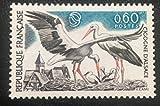 Timbre Neuf** de Collection Authentique. 1973 France No 1755 Neuf sans charnière. des Livres Express. Oiseau: Cigogne