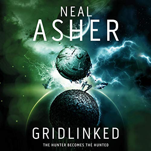 Gridlinked audiobook cover art