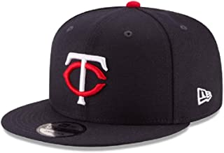 New Era Minnesota Twins MLB Basic Snapback Original Team Color Adjustable 950 Cap Navy Blue
