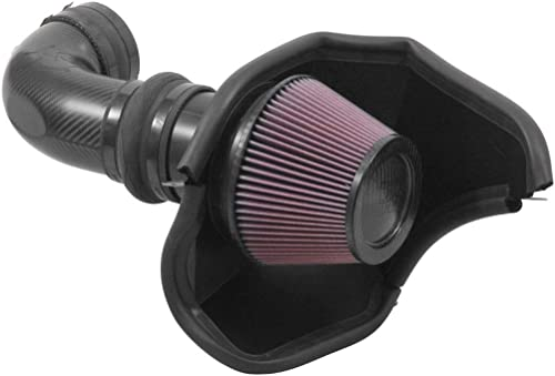 2021 K&N outlet sale Cold Air discount Intake Kit: High Performance, Increase Horsepower: Compatible with 2016-2019 Cadillac CTS-V, 6.2L V8,63-3096 online