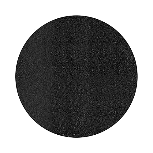 Round Fire Pit Mat Deck Protector, 32/36/40inch Round Fireproof Mat Under BBQ Floor Grill Patio Decking Grass Protector, Fireproof Under Grill Mat Deck & Lawn Protector for Outdoor Patio(size:40inch)