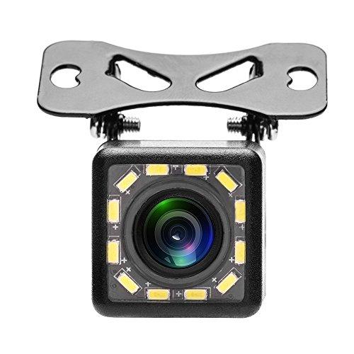 ZIJIN Waterproof Car Rear View Camera 170 Wide Angle HD CCD 12 LED Night...