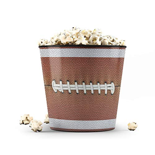 Balde de Pipoca 3,5 Litros Esportes - Bola de Futebol Americano