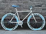 MU Camino de la Bicicleta, Bicicletas 26 Pulgadas, Sistema de Frenos Stripped Volver Fixie, Marco de...