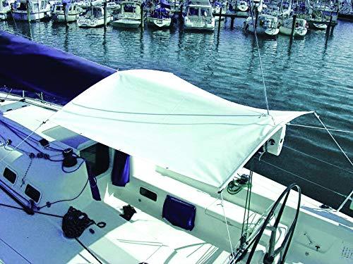 Oleu-Segel Sonnensegel mit Gestänge Weiß 2,9m x 2,9m