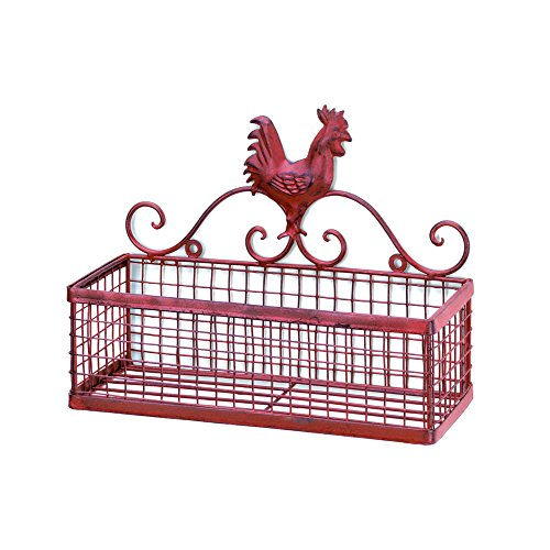 Home Locomotion Rooster Single Wall basket