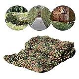 CAISYE Red De Camuflaje De Bosque Verde del Ejército, Red De Protección Solar para Jardín, Toldos para Balcón Protección De Terraza Protección De Privacidad De Plantas Cubierta De Automóvil,10 * 10m