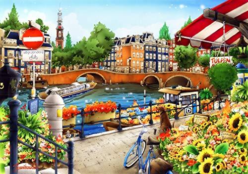 Bluebird puzzle Amsterdam - 1500 Piezas