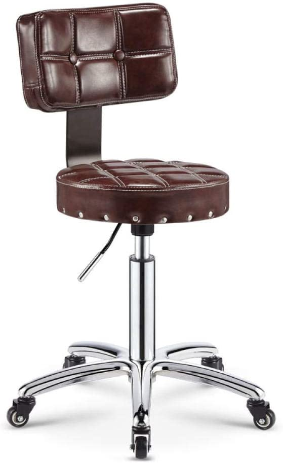 Beauty Salon Stool shipfree with Brow Wheels,Physique Saddle Limited time trial price