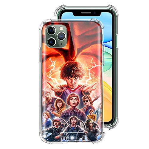 ZENGMING Stranger Things Multi Colored Case For Apple iPhone
