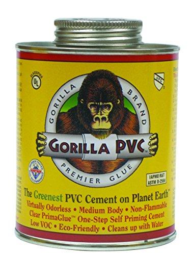 Gorilla Clear PVC PrimaGlue 32oz.