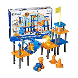 A city engineering and design building set for kids