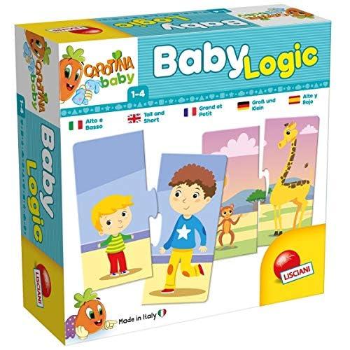 Lisciani Giochi- Carotina Baby Logic Alto e Basso, 65400.0