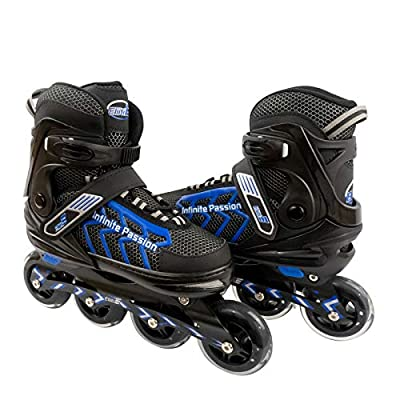 ELIITI Inline Skates for Men Women Adults Adjustable Size 7 to 11