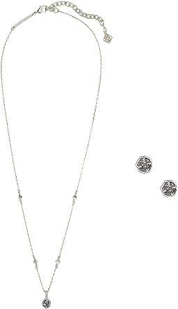 Rhodium Platinum Drusy