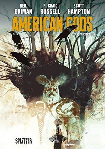 Buchseite und Rezensionen zu 'American Gods. Band 1: Schatten Buch 1/2' von Neil Gaiman