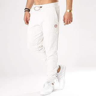 Sergio Tacchini Sports Lifestyle Zanno Pant for Men, Size S (Off White)