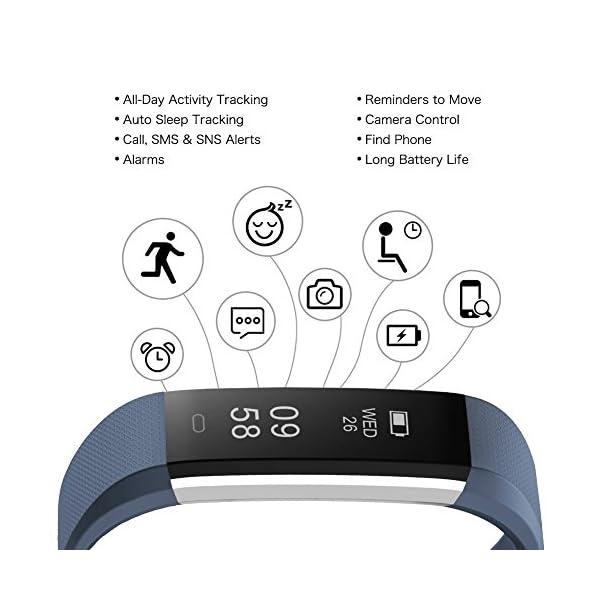Fitness Tracker, letscom deportes Fitness Tracker reloj con Slim pantalla táctil, pulsera de actividad Tracker como… 2