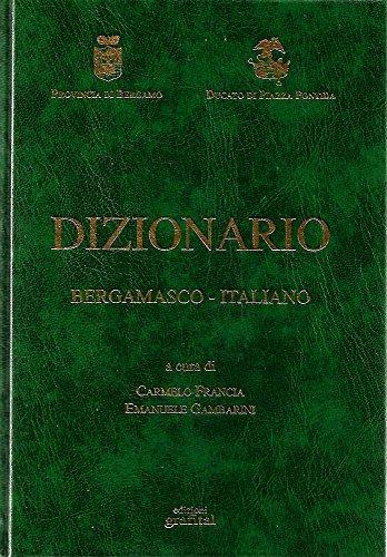 Dizionario bergamasco-italiano