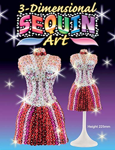 Sequin Art 1421 Mannequin Craft Project From The 3D Range