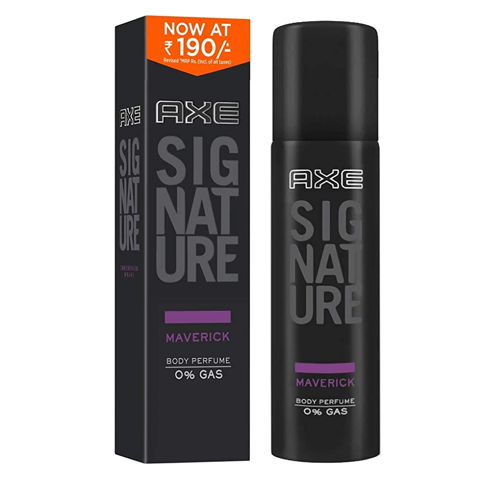 アナログ個人的なモジュールAXE Signature Maverick Body Perfume, 122 ml