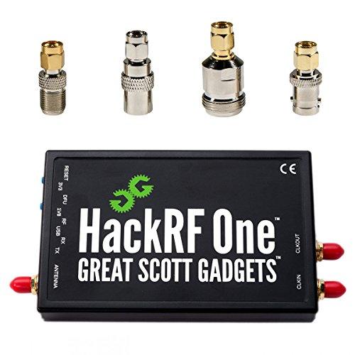 NooElec HackRF One Software Defined Radio (SDR) & SMA Antennenadapter Bündel
