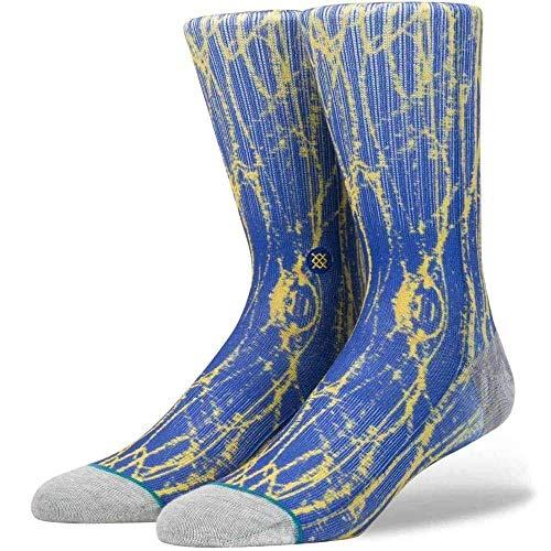 Stance Calcetines de la NBA Squad Klay Thompson Scribbles en azul   Stance calcetines largos para hombre