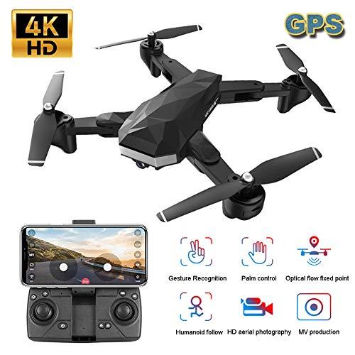 FPV GPS Opvouwbare Drone Met 4K HD 1080P-Camera Voor Volwassenen, Kinderen En Beginners, Bewegingsbediening, Hoogte Vasthouden, Volg Mij, GPS Auto Return