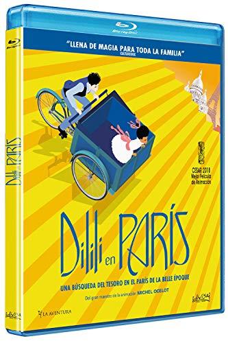 Dilili en parís [Blu-ray] Michel Ocelot