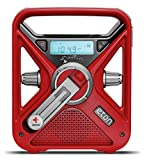 The American Red Cross FRX3 Hand Crank NOAA AM / FM Weather Alert Radio with Smartphone Charger, ARCFRX3WXR