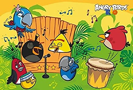 Puzzzle Angry Birds Rio W Rytmie Samby 90