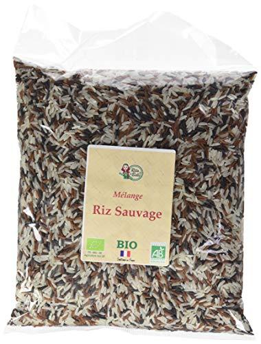 RITA LA BELLE Riz Sauvage Mélange Bio 1 kg - Lot de 3