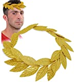 KarnevalsTeufel Lorbeerkranz, Gold, Accessoire (5)