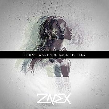 I don't want you back (feat. Ella)