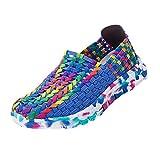 Zapatillas de Deporte para Mujer Otoño 2018 PAOLIAN Zapatos de Running de Plano Dama Casual Talla Grande Cómodo Calzado de Trabajo Deportivo Moda Señora Senderismo