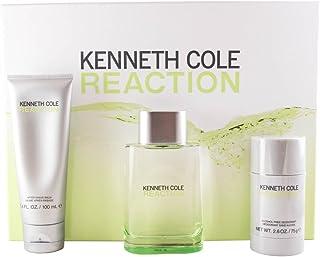 Kenneth Cole Reaction For Her Eu De Parfum Spray 100 ml+Body Wash 100 ml + Body Lotion 100 ml