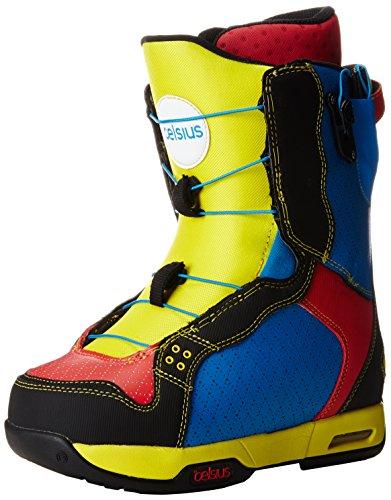 Celsius Men's SMU O.Zone Lace Snowboard Boots, Multi, 8
