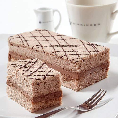 新杵堂 チョコレートを使った豆乳ケーキ「チョコふわふわ」 1本 | 和風生地とチョコレートのコラボレーション