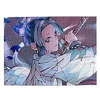 鬼滅の刃 胡蝶 しのぶ アニメパズルセット子供用パズル環境保護デコレーション500(Psc)38 Cm * 52 Cm