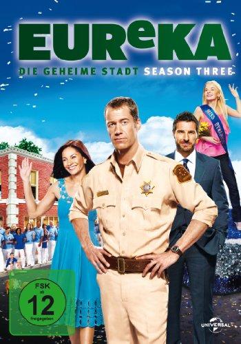 EUReKA - Die geheime Stadt, Season 3 [5 DVDs]