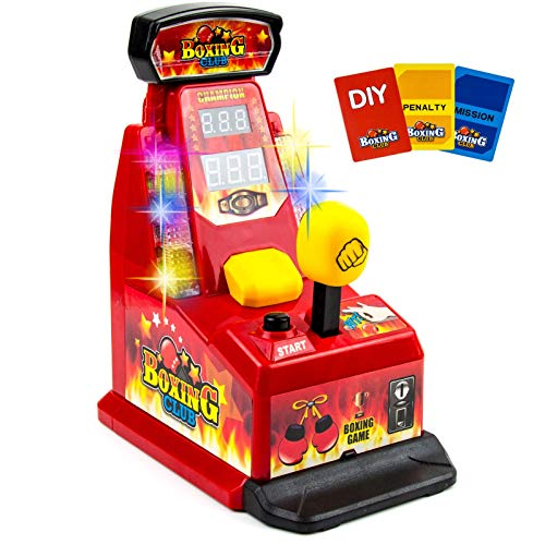 Boxing Club Toy for Girls and Boys – Game Fighting – Finger Integrator Machine Toys for Show Your Power – Birthday, Holiday, Gift