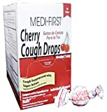Medique-Medi-First Cough Drops Cherry Commissary Pack - MS75889 (6 Boxes)