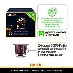 Caffe-Vergnano-1882-Napoli-Espresso-Capsule-Caffe-Compostabili-Compatibili-Nespresso-e-con-le-macchine-espresso1882-tre-Pack-da-100-Capsule